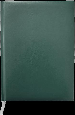 Ежедневник А5 недатированный MASTER, зеленый, блок в клеточку