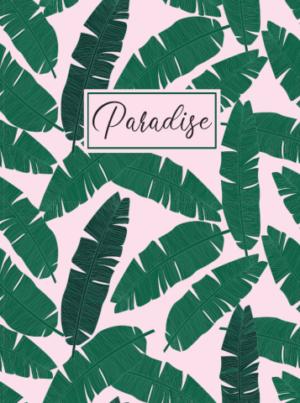 Ежедневник А5 недатированный PARADISE зеленый