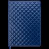 Ежедневник недатированный А4 DONNA синий, кремовый блок