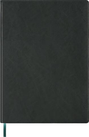 Ежедневник недатированный А4 BRAVO зеленый, кремовый блок