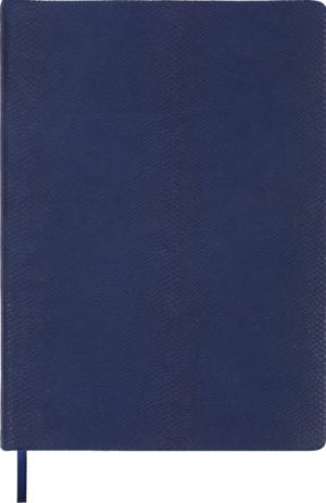 Ежедневник недатированный А4 AMAZONIA синий, кремовый блок