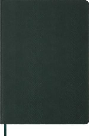 Ежедневник недатированный А4 AMAZONIA зеленый, кремовый блок
