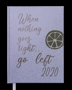 Ежедневник датированный 2020 FATTORE, А5, серый