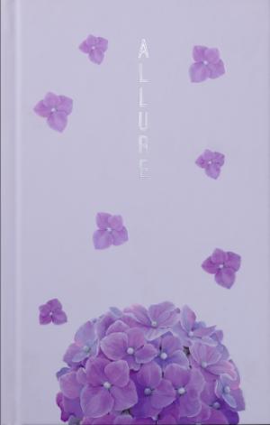 Ежедневник датированный 2020 ALLURE, A6, светло-розовый
