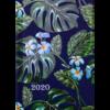 Ежедневник датированный 2020 FANCY, A6, темно-синий, твердая обложка