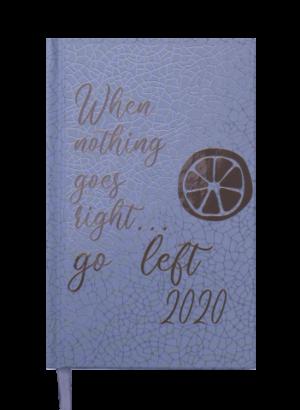 Ежедневник датированный 2020 FATTORE, A6, серый