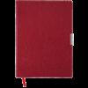 Еженедельник А4 2021 SALERNO красный, гибкая обложка