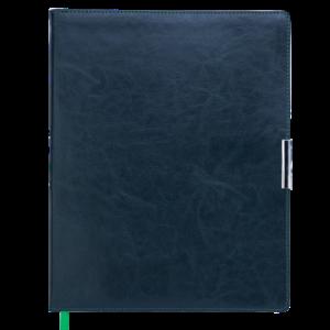 Еженедельник А4 2022 SALERNO зеленый, гибкая обложка
