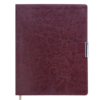 Еженедельник А4 2021 SALERNO коричневый, гибкая обложка