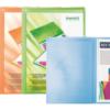 Дисплей-книга с карманом А4, 20 файлов, 500 мкм, прозрачная