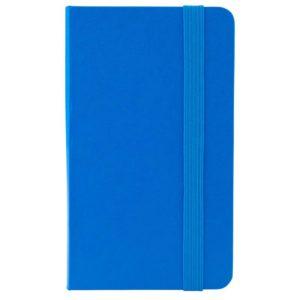 Еженедельник датированный А6-, 2020 Axent Pocket Strong, твердая обложка, кремовый блок, голубой