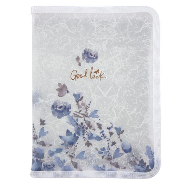 Папка объемная на молнии, А5+, Frozen Nature-03, пластиковая, 450мкм