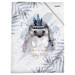 Папка пластиковая А4+, Cuties-01, на резинках, 420мкм