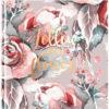 Записная книжка FLOWERS, 165х165мм, 80л, тв. обложка, без линовки, белый блок