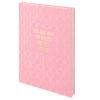 Записная книжка Stories, А5, 96л, твердая обложка, клетка, кремовый блок, розовая 34527
