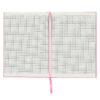 Записная книжка Stories, А5, 96л, твердая обложка, клетка, кремовый блок, розовая 34528