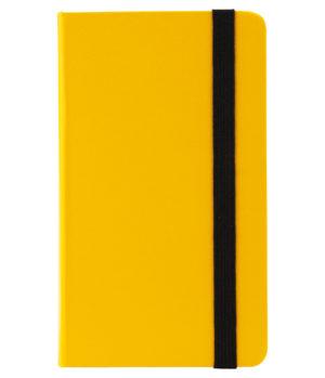 Еженедельник датированный А6-, 2020 Axent Pocket Strong, твердая обложка, кремовый блок, желтый