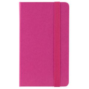 Еженедельник датированный А6-, 2020 Axent Pocket Strong, твердая обложка, кремовый блок, розовый