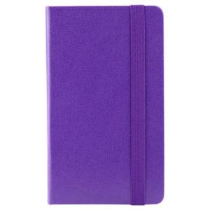 Еженедельник датированный А6-, 2020 Axent Pocket Strong, твердая обложка, кремовый блок, фиолетовый