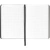 Записная книжка Nuba Strong, А6+, 96л, твердая обложка, клетка, кремовый блок, тонированный срез, красная 34585
