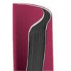 Записная книжка Nuba Strong, А6+, 96л, твердая обложка, клетка, кремовый блок, тонированный срез, красная 34586