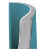 Записная книжка Nuba Soft, А6+, 96л, мягкая обложка, клетка, кремовый блок, тонированный срез, голубая 34562
