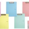 Папка-планшет А4, Pastelini, металлический клип, виниловая обложка, внутренний карман