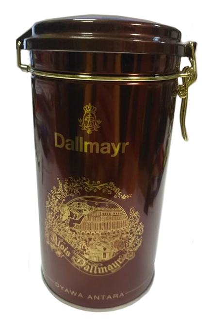 Кофе молотый в жестяной банке DALLMAYR Dyawa Antara, 500г, 100% арабика