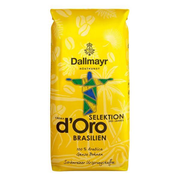 Кофе в зернах DALLMAYR Crema d'Oro Selektion Brasilien, 1 кг, 100% арабика