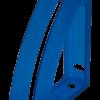 Лоток вертикальный РАДУГА с передней стенкой ( 4 цвета) 35138