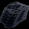 Лоток универсальный сборный 6 в 1 (черный, прозрачный, дымчатый) 35160
