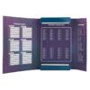 Папка для тетрадей картонная В5, Charming на резинке K20-210-01 35720