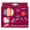 Мел цветной цилиндрический JUMBO 6 цветов, 6шт. Hello Kitty HK19-073