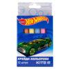 Мел цветной цилиндрический 6 цветов, 12шт. Hot Wheels HW19-075