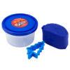 Тесто для лепки 3 шт Х 75г, 3 цвета, с формочками Hot Wheels HW19-151 картонная упаковка 35425