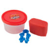 Тесто для лепки 3 шт Х 75г, 3 цвета, с формочками Hot Wheels HW19-151 картонная упаковка 35426