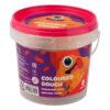 Тесто для лепки 8 шт Х 20г, 8 цветов +2 формочки, стек, в пластиковом ведерке Jolliers K-19-137