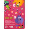 Бумага цветная самоклеящаяся А5, 10листов, 10 цветов, 80г/м2, Kite Jolliers  K20-294 35695