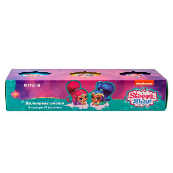 Тесто для лепки 3 шт Х 75г, 3 цвета, с формочками Shimmer & Shine, SH19-151 картонная упаковка