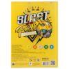 Бумага цветная неоновая Kite Transformers 10листов, 5цветов, А4, 80г/м2 TF19-252 35690