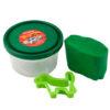 Тесто для лепки 5 шт Х 75г, 5 цветов, с формочками Hot Wheels HW19-152 35436