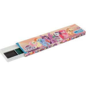 Акварельные краски 6 цветов без кисти My Little Pony LP19-040 картон. упаковка