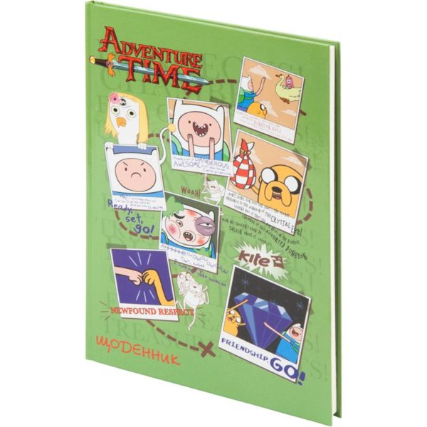 Дневник школьный Adventure Time 165х230мм, твердая обложка AT17-262-2