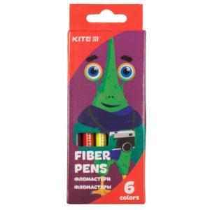 Фломастеры на водной основе Jolliers 6 цветов K19-046 картонная упаковка