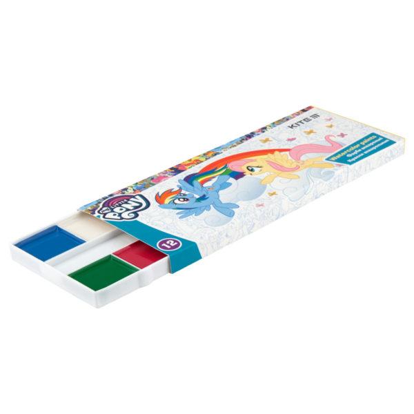 Акварельные краски 12 цветов, без кисти My Little Pony  LP19-041, картон. упаковка