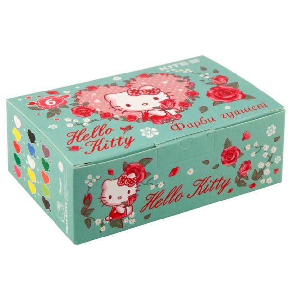 Гуашь 6 цветов, 20мл Hello Kitty HK19-062