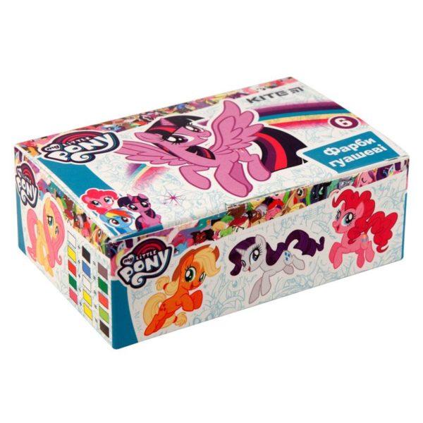 Гуашь 6 цветов, 20мл My Little Pony LP19-062