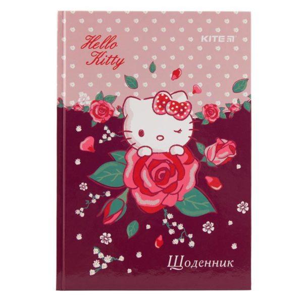 Дневник школьный Hello Kitty-1 165х230мм, твердая обложка HK19-262-1