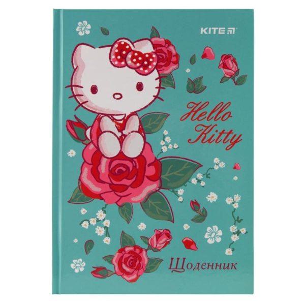 Дневник школьный Hello Kitty-2 165х230мм, твердая обложка HK19-262-2