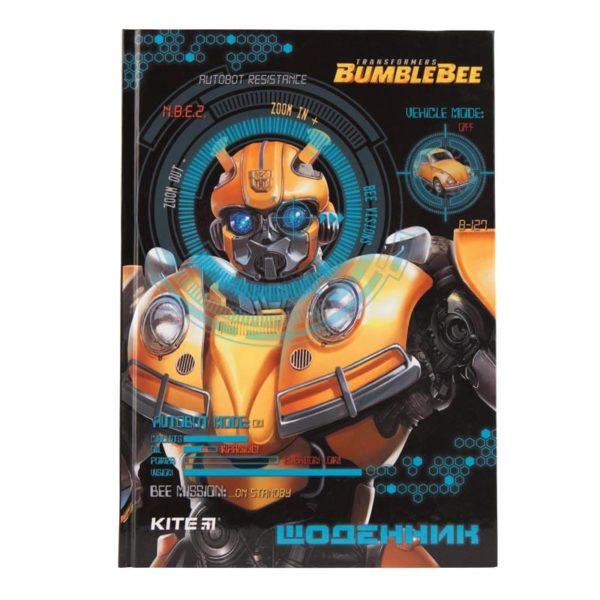 Дневник школьный Transformers-1 165х230мм, твердая обложка TF19-262-1